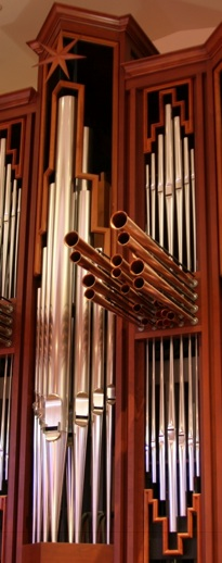 Pipes at All Saints' Episcopal