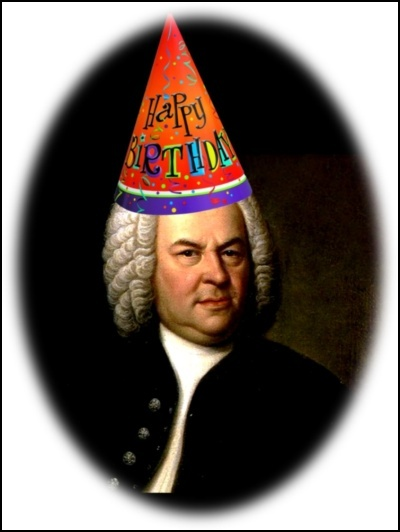 JS Bach, birthday boy