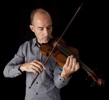 Violinist Stephen Redfield